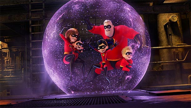 THE INCREDIBLES 2 brilliert an den Kinokassen