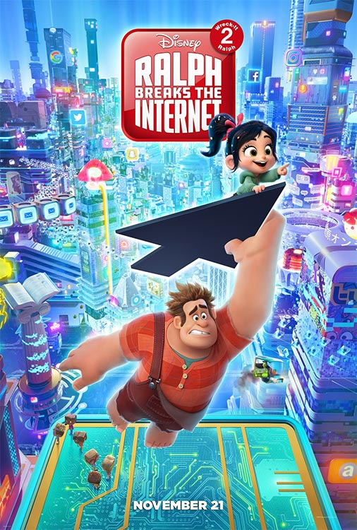 Poster und neuer Trailer: RALPH BREAKS THE INTERNET
