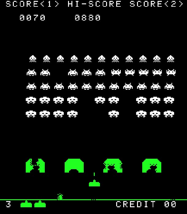 40 Jahre SPACE INVADERS