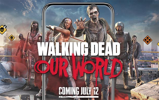 Augmented Reality Game: THE WALKING DEAD: OUR WORLD