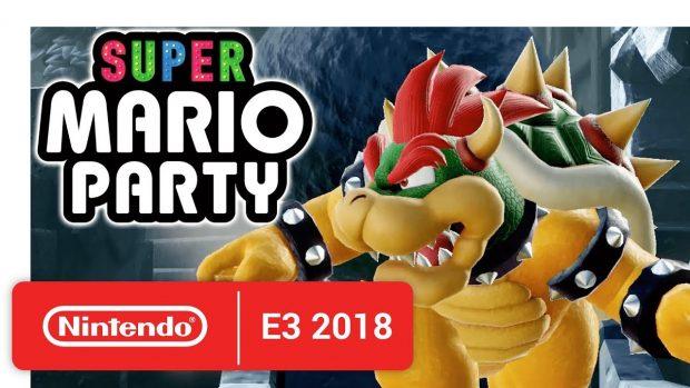 [E3] Nintendo: Trailer zu SUPER MARIO PARTY SWITCH und SUPER SMASH BROS ULTIMATE