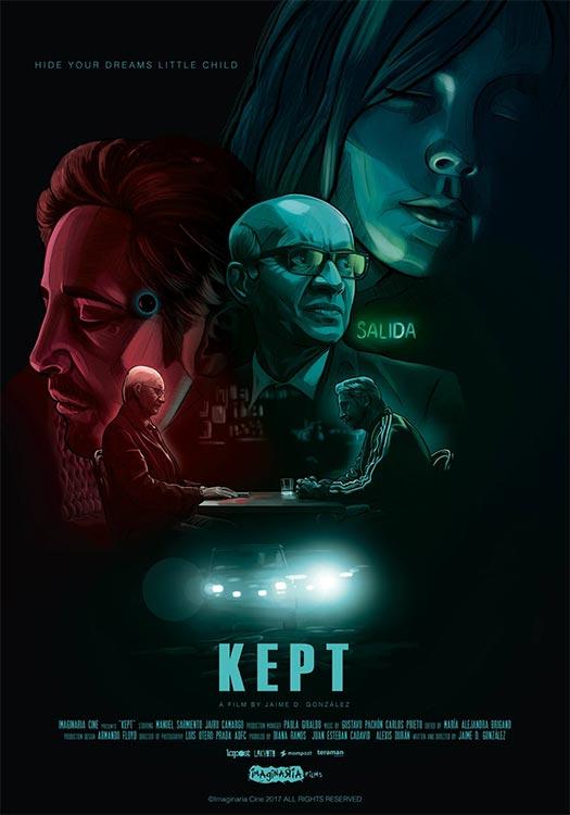 Trailer und Poster für SF-Kurzfilm KEPT