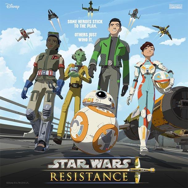 Poster: STAR WARS RESISTANCE