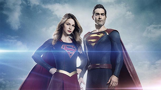 Superman und Lois Lane im Arrowverse-Crossover