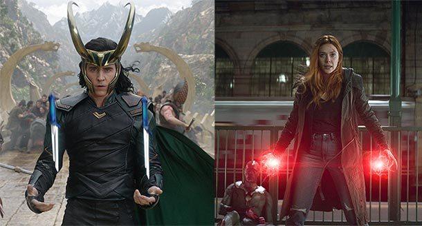 Loki und Scarlet Witch in eigenen MCU-Streamingserien