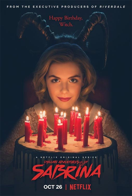Poster: CHILLING ADVENTURES OF SABRINA