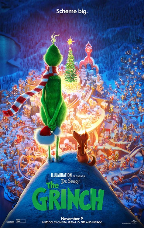 Trailer und Poster: THE GRINCH