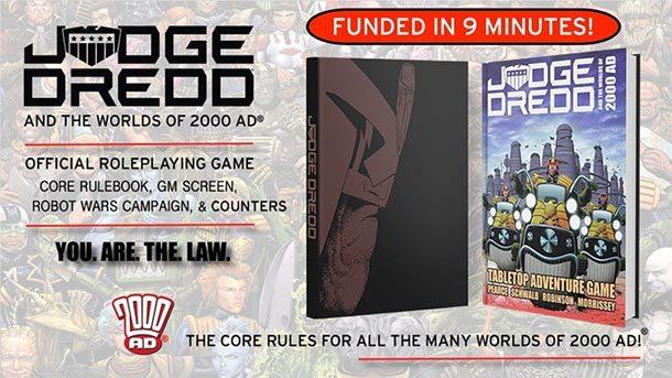 Crowdfunding: JUDGE DREDD-Rollenspiel auf Kickstarter