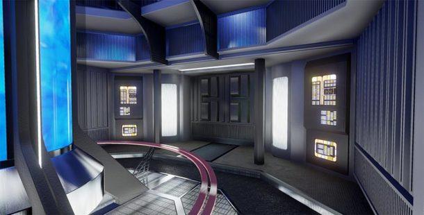 Wegen CBS: STAR TREK VOYAGER GAME PROJECT geht auf Tauchfahrt