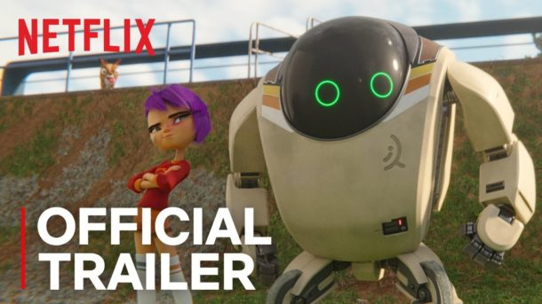 Trailer: NEXT GEN – Animationsfilm realisiert in Blender für Netflix