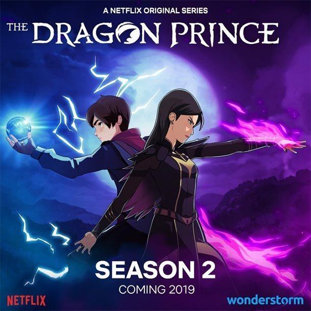 Netflix bestätigt zweite Staffel von THE DRAGON PRINCE