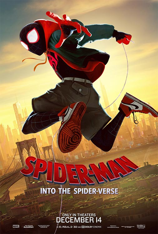 Charakter-Poster zu SPIDER-MAN: INTO THE SPIDER-VERSE