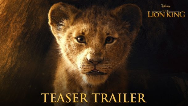 Teaser: Disneys THE LION KING
