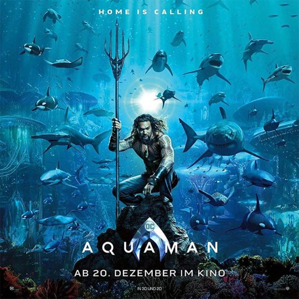 Niemand mag AQUAMAN