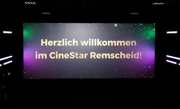 Cinestar-Eröffnung: Endlich wieder Kino in Remscheid (mit Bildergalerie)