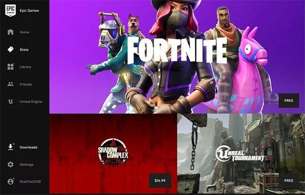 Epic Games eröffnet neuen Computerspiele-Store