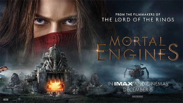 MORTAL ENGINES – Endzeit-Steampunk auf Turbo-Laudanum