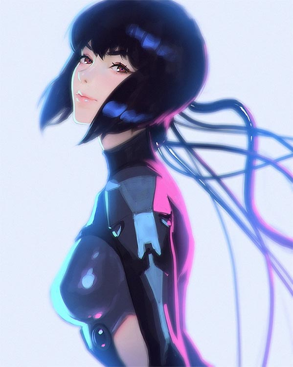 Netflix: neuer GHOST IN THE SHELL Animé