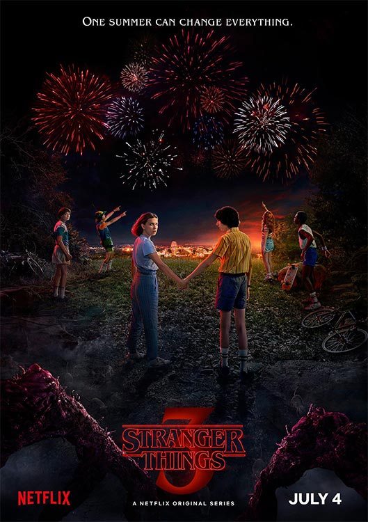 STRANGER THINGS Staffel drei ab 4. Juli 2019