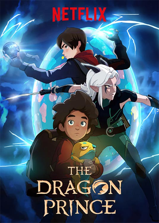 Zweite Staffel THE DRAGON PRINCE startet am 15. Februar 2019