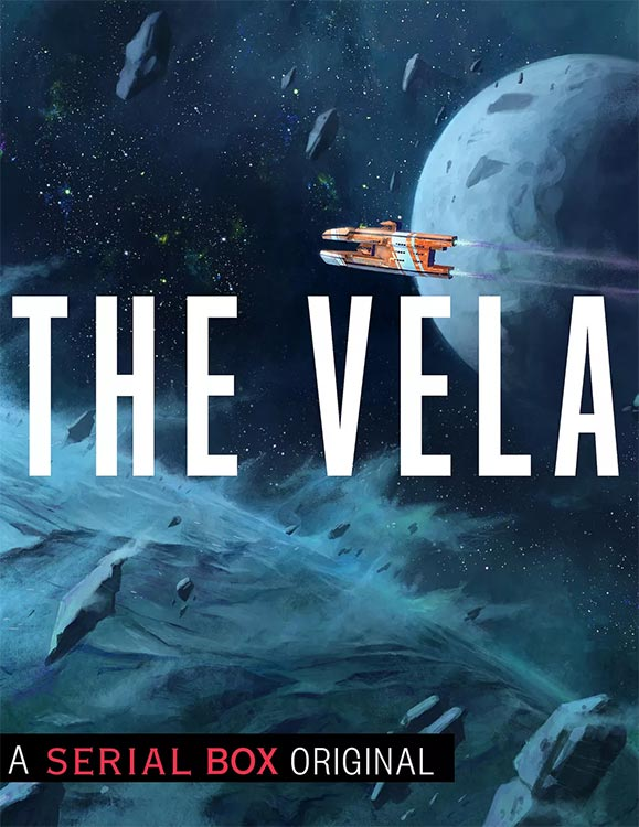 Ab Anfang März: Science Fiction Romanserie THE VELA (englisch)