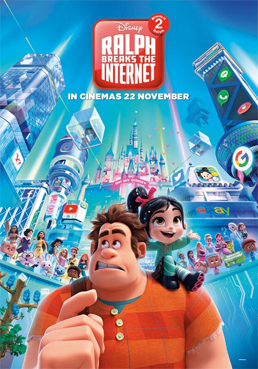 CHAOS IM NETZ – RALPH BREAKS THE INTERNET