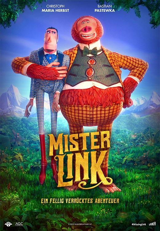 Bandit bespricht: MISTER LINK – Ein Fellig Verrücktes Abenteuer