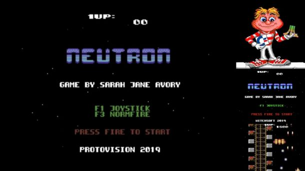 NEUTRON: Shoot-Em-Up für den C64