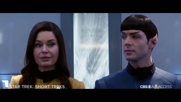 SDCC 2019: STAR TREK SHORT TREKS Trailer