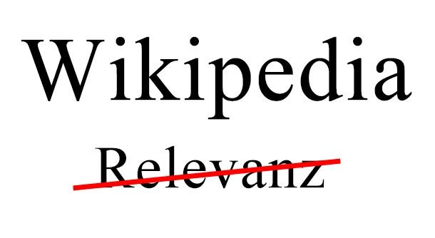 Deutsche Wikipedia: Die misogynen Inquisitoren der heiligen Relevanz
