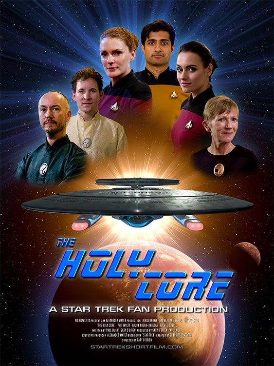 Grandios: STAR TREK TNG-Fanfilm: THE HOLY CORE