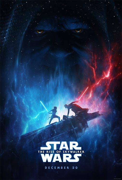 Poster: STAR WARS Episode IX – THE RISE OF SKYWALKER