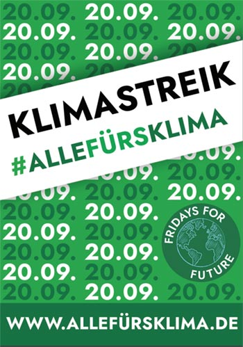 banner #fridaysforfuture