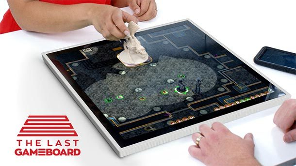 Crowdfunding: Elektronisches Spielbrett Gameboard‑1