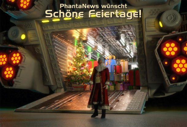 PhantaNews wünscht schöne Feiertage: Jahresendgrüße