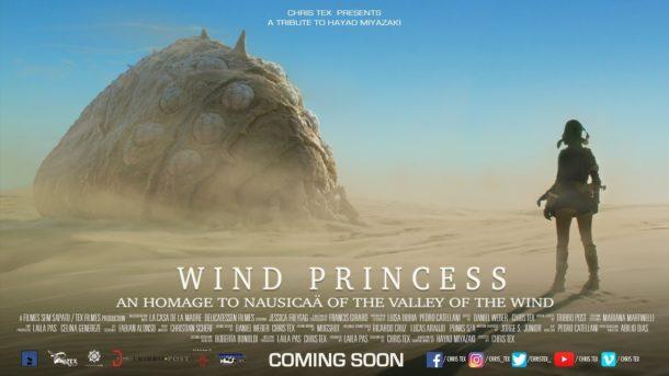 Trailer: WIND PRINCESS für NAUSICAÄ-Fanfilm