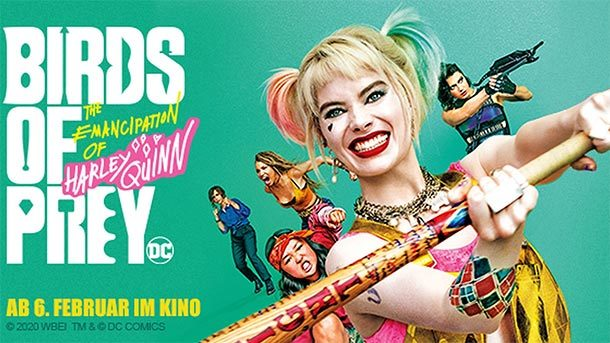 Bandit bespricht: BIRDS OF PREY: AND THE EMANCIPATION OF HARLEY QUINN