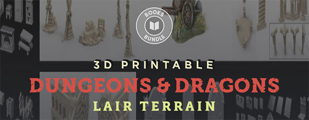 Humble Bundle für D&D‑Dungeon Tiles im 3D-Druck