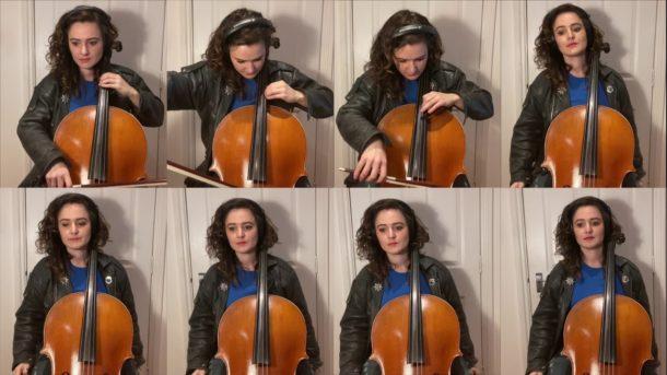 KNIGHT RIDER Theme für acht Cellos