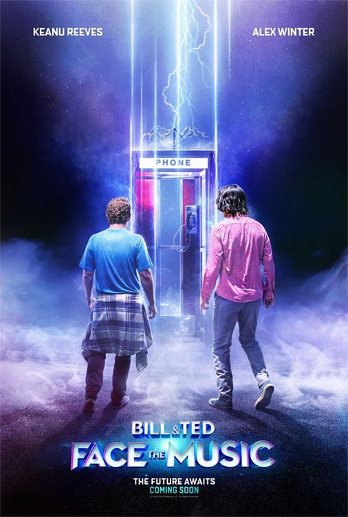 BILL & TED FACE THE MUSIC: Poster