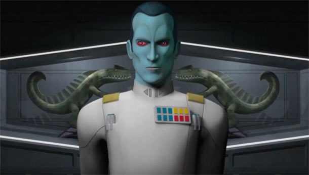 STAR WARS: Grand Admiral Thrawn in Serie?
