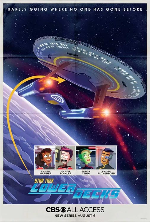 STAR TREK: LOWER DECKS hat einen Starttermin …