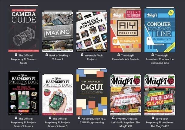 Humble Raspberry Pi Book Bundle
