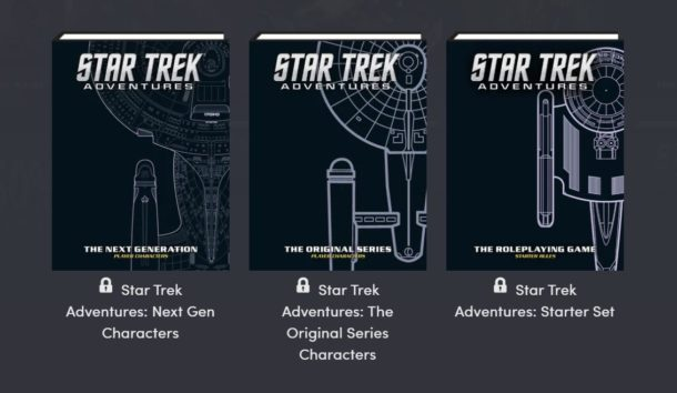 Humble RPG Book Bundle: STAR TREK ADVENTURES