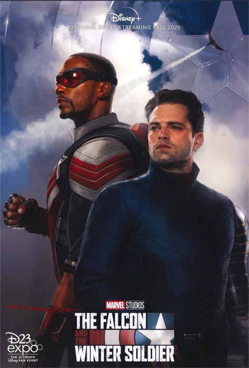 Verschoben: THE FALCON AND THE WINTER SOLDIER