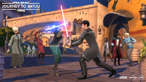 Wait, what? DIE SIMS treffen STAR WARS: JOURNEY TO BATUU
