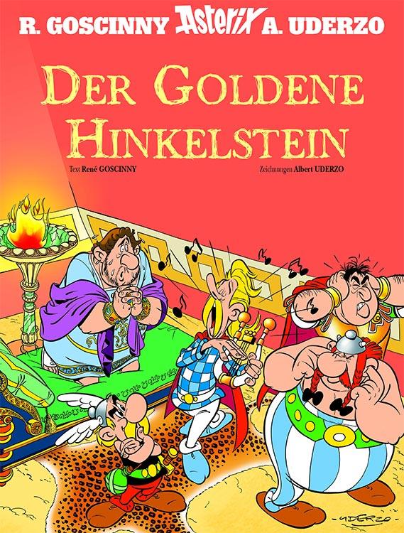Neuer Asterix: DER GOLDENE HINKELSTEIN