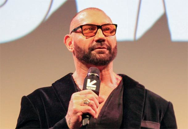 Dave Bautista in UNIVERSE´S MOST WANTED