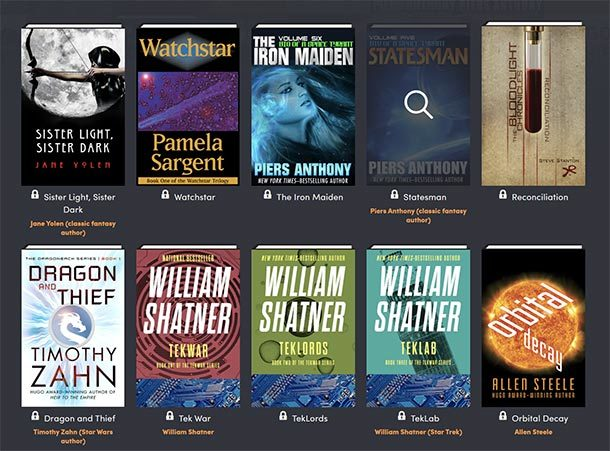 Humble Book Bundle: STARS OF SCI-FI AND FANTASY