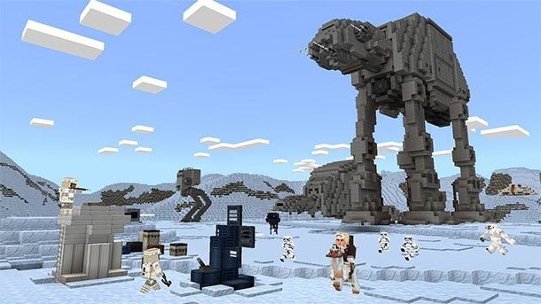 MINECRAFT goes STAR WARS